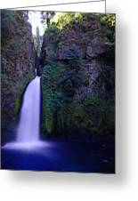 Paradise Pours Wanclella Falls Oregon Greeting Card