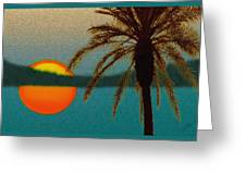 Paradise Sun Greeting Card