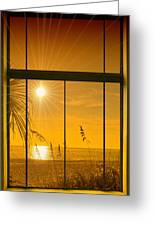 Paradise View II Greeting Card
