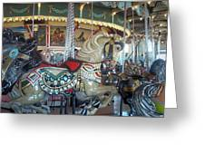 Paragon Carousel Nantasket Beach Greeting Card