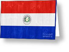 Paraguay Flag Greeting Card