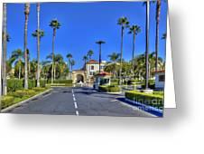 Paramount Movie Studio Hollywood Ca 3 Greeting Card