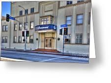 Paramount Movie Studio Hollywood Ca Greeting Card