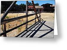 Paramount Ranch Bridge Greeting Card