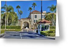 Paramount Studios Hollywood Movie Studio  Greeting Card