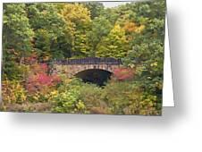 Parapet Bridge Greeting Card