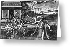 Parasurama, Sixth Avatar Of Vishnu Greeting Card
