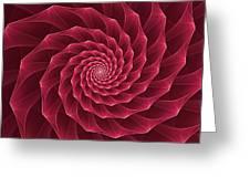 Parawanji Fractal Vortex Greeting Card