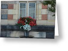 French Stone Greeting Card