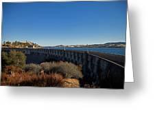 Pardee Dam Greeting Card