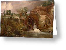 Parham Mill Greeting Card