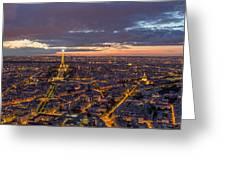 Paris - Tour Montparnasse 2 Greeting Card