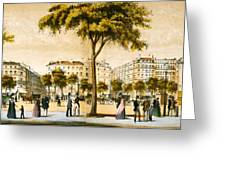 Paris 1878 Greeting Card