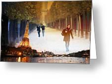 Paris 21 Greeting Card