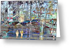 Paris 66 Greeting Card
