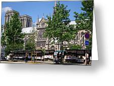 Paris Artist Row Greeting Card