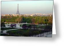 Paris Autumn Greeting Card