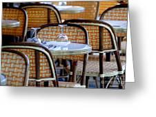 Paris Cafe 2 Greeting Card