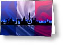 Paris City Greeting Card