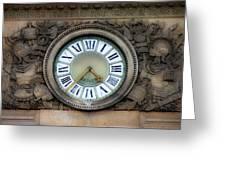 Paris Clocks 1 Greeting Card