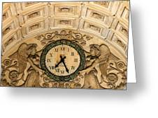 Paris Clocks 2 Greeting Card by Andrew Fare