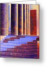 Paris Columns Greeting Card by Chuck Staley