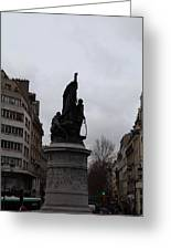 Paris France - Street Scenes - 0113129 Greeting Card by DC Photographer
