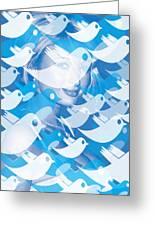 Paris Hilton Twitter Greeting Card