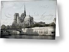 Paris History Greeting Card