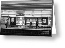 Paris Metro - Franklin Roosevelt Station Greeting Card