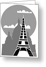 Paris Greeting Card