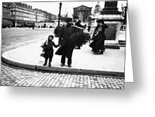 Paris Mistletoe, C1900 Greeting Card