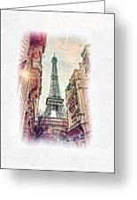 Paris Mon Amour Greeting Card
