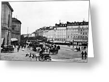 Paris Montparnasse, C1900 Greeting Card