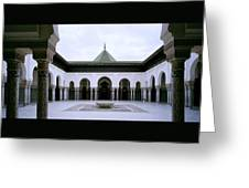 The Paris Mosque Greeting Card