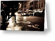 Paris Nights 1 Greeting Card