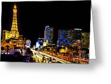 Welcome To Vegas Greeting Card