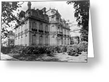 Paris Private Home, 1872 Greeting Card