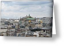 Paris Rooftops Greeting Card