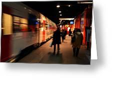 Paris Underground Greeting Card