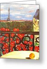 Paris View Greeting Card