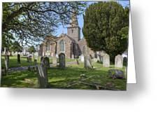 Parish Church St Martin - Jersey Greeting Card