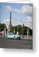 Parisian Charm Greeting Card