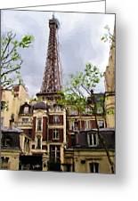 Parisian Icon Greeting Card