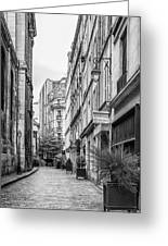 Parisian Street Greeting Card