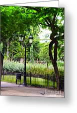 Park And Gardens Greeting Card