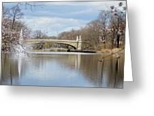 Park Avenue Bridge Greeting Card