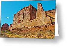 Park Avenue In Arches National Park-utah Greeting Card