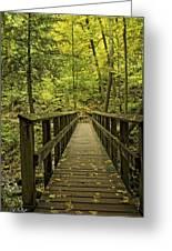 Park Bridge Greeting Card