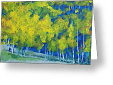 Park City Forest Greeting Card